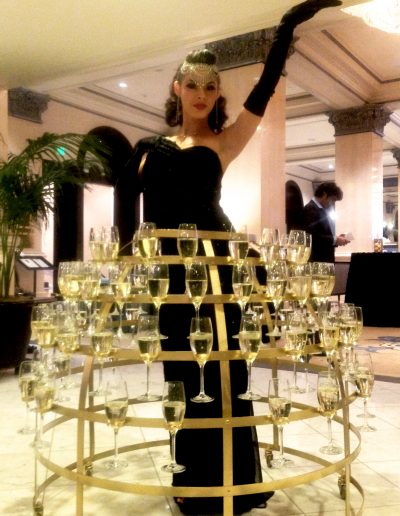 Champagen Dress black and Gold 1 copy