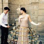 Strolling Champagne Dress Tux