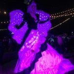 Glow Stilt Walker
